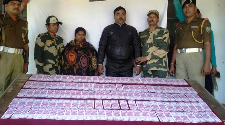 BSF siezes fake notes, BSF, fake Indian currency notes, Malda, FICN, India news, indian express news