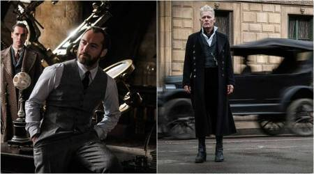 Fantastic Beasts The Crimes of Grindelwald: New photos show Dumbledore in office, Grindelwald plans something sinister