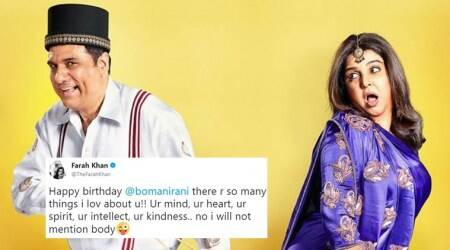 Farah Khan and Boman Irani's hilarious birthday wish 'tweet talk' has everyone in splits