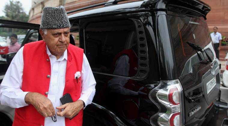 Farooq Abdullah on J&K minister sacking
