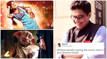 movie names, movies, best movies, favourite films, favourite movies, what is your favourite movie, tanmay bhat, twitter trends, bollywood movies, hollywood movies, indian express, indian express news