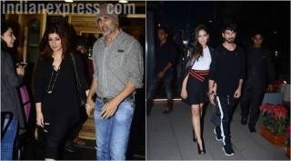 Celeb Spotting:  From Shahid-Mira walking hand-in-hand to Akshay-Twinkle in Bandra
