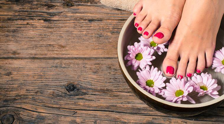 ways to take care of feet, tips to take care of feet, massage for feet, ways to take care of feet, reasons to massage your feet, indian express, indian express news
