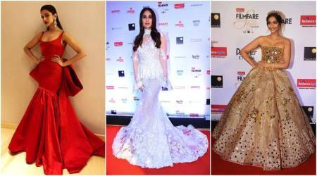 Filmfare Glamour and Style Awards 2017: When Deepika Padukone, Kareena Kapoor Khan, Sonam Kapoor and others rocked in voluminous gowns