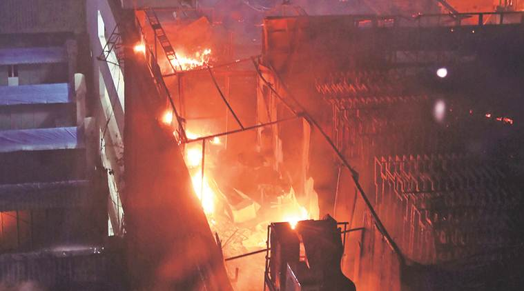 Image result for Kamala Mills building fire: BMC springs into action after Mumbai blaze