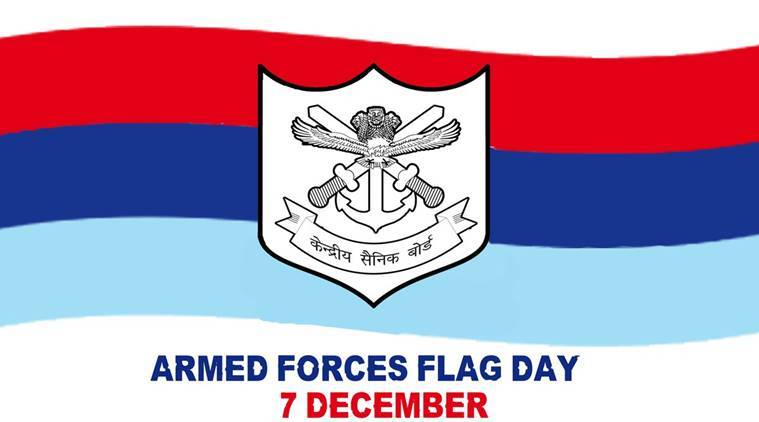Image result for National Flag Day 7th DEcember 2018