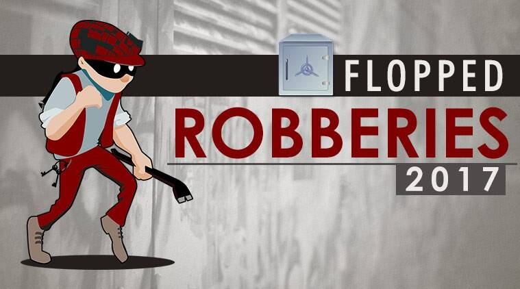 robberies of 2017, robbery videos, lousy videos, robberies caught on camera, funny videos, viral videos, Indian express, Indian express news