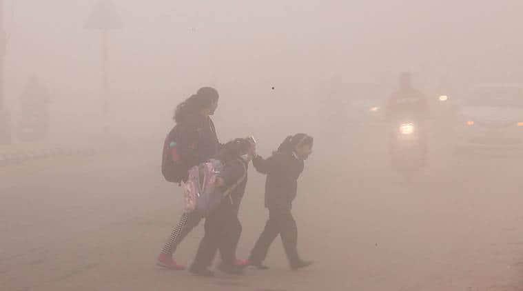 Patna fog