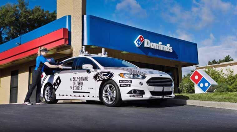 ford self-driving cars, lyft, self-driving cars, autonomous technology, ford dominos self-driving cars, dominos self-driving home delivery, tesla, waymo, uber, general motors, uber waymo lawsuit