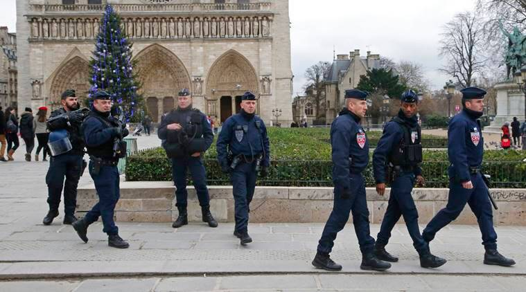 France beefs up security amid year-end festivities