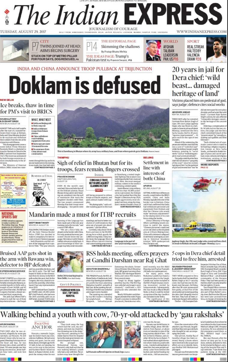 The Indian Express Delhi-June 6, 2020 Newspaper