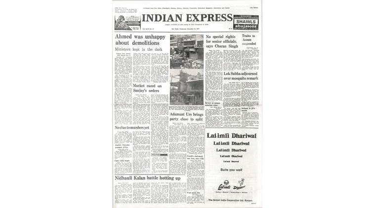 December 14, 1977, Forty Years Ago: Congress may split