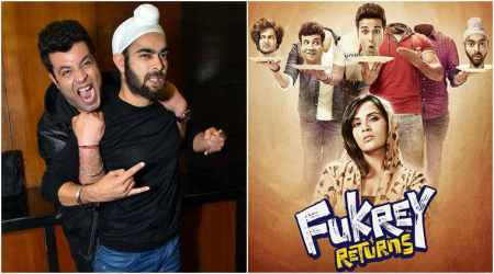 Fukrey Returns is a sequel to 2013 film Fukrey.