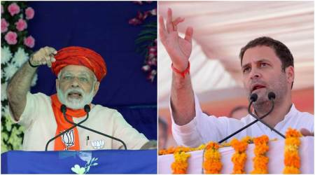 Gujarat Assembly election results 2017 highlights: BJP noses ahead as margin with Congress widens