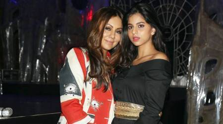 Suhana Khan's holiday party fashion pick isn't that inspiring, but Gauri Khan's look is
