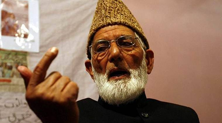 Syed Ali Shah Geelani, Syed Ali Shah Geelani's Son, Naseem-ul-Zaffar Geelani, National Investigation Agency, NIA, India News, Indian Express, Indian Express News