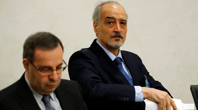 Syrian government negotiator Bashar al-Ja'afari  quits Geneva talks