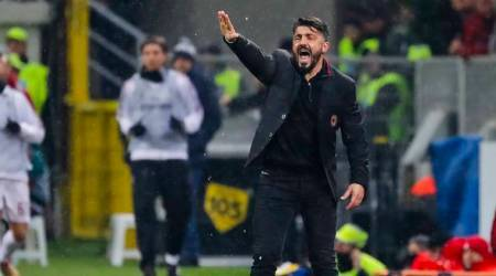 AC Milan not pretty but coach Gennaro Gattuso happy with teamwork