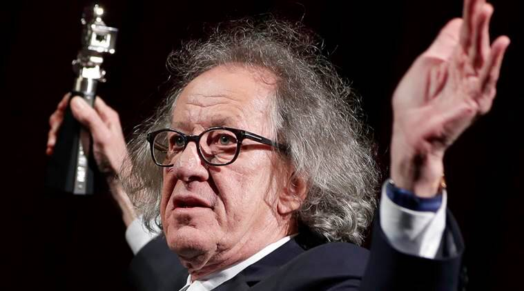 Geoffrey Rush denies inappropriate behaviour at theatre