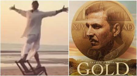 Akshay Kumar wraps up Gold with a somersault. Watch video
