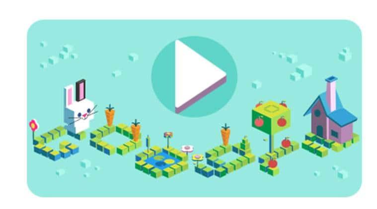google doodle, google doodle kids coding program, coding program for kids, coding for carrots, indian express, indian express news