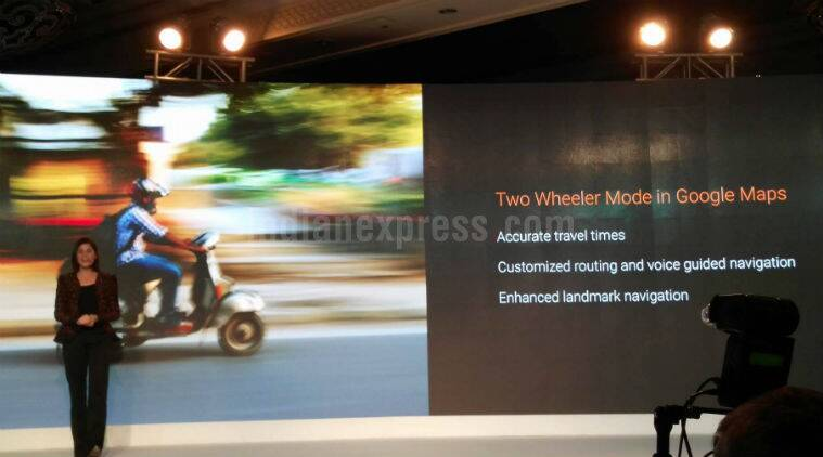 Google Maps two wheeler mode new feature update for India