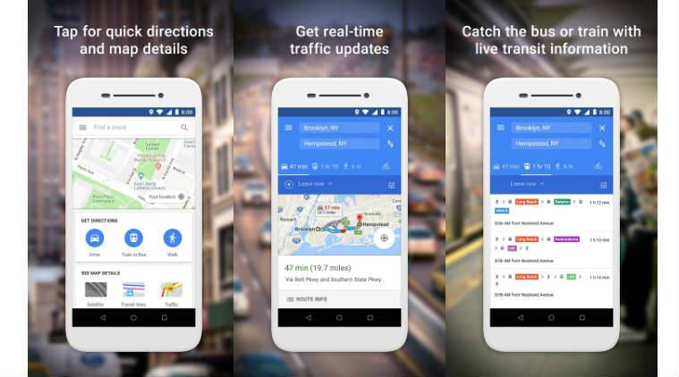Google Map Play on