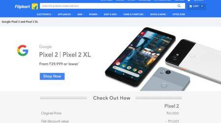 Google Pixel 2 price slashed on Flipkart: Here's how to get the phone at Rs 39,999