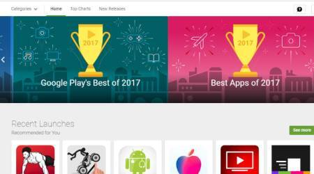 Google Play Best of 2017 apps games movies book awards