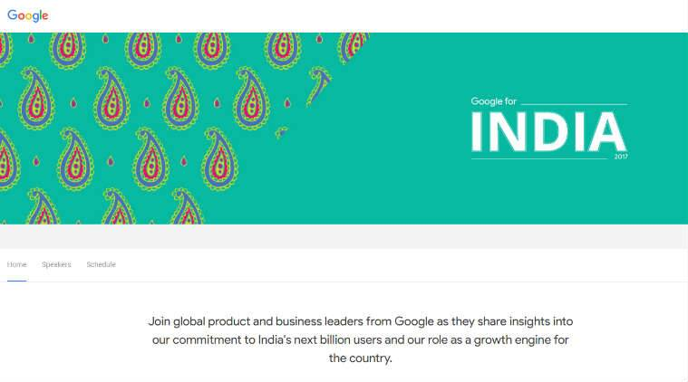 Google for India event key announcements