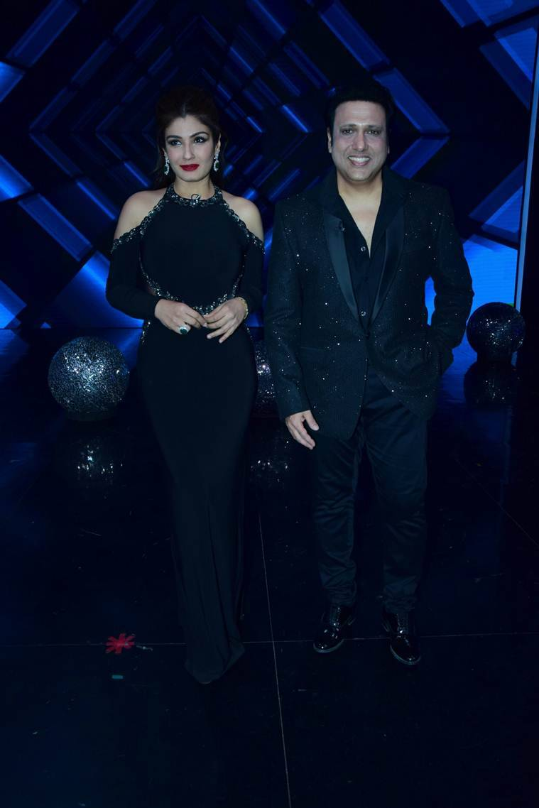 Govinda raveena tandon and shilpa shetty dial up nostalgia on govinda raveena tandon super dancer 2 thecheapjerseys Images