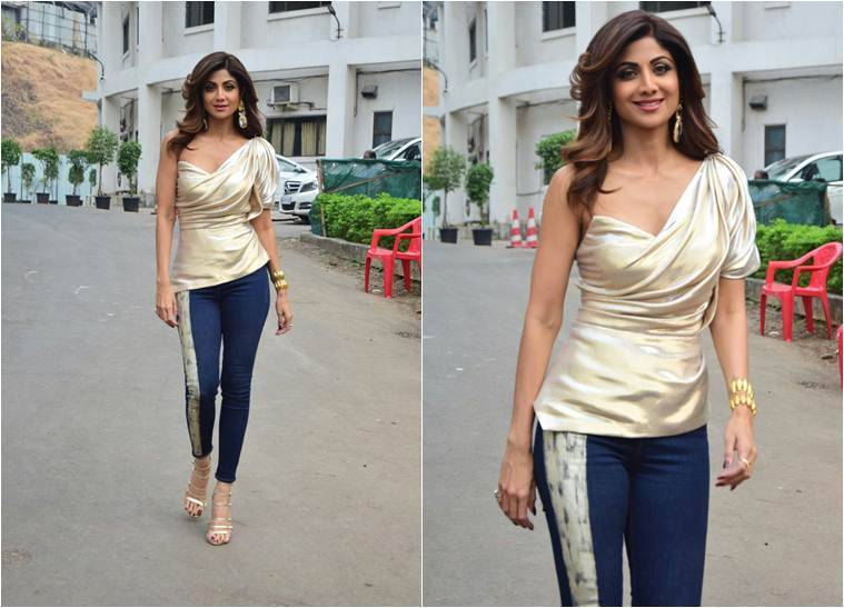 Govinda raveena tandon and shilpa shetty dial up nostalgia on shilpa shetty on super dancer 2 thecheapjerseys Images
