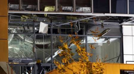 Greece: Explosion damages Athens court complex; noinjuries