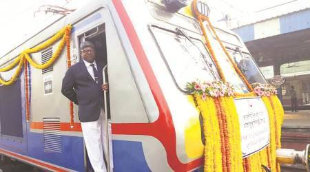 western railways, mumbai local, AC local train, first air-conditioned (AC) local train in suburban mumbai, indian express