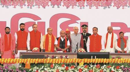 The New Gujarat Ministry: Three Masters, 11 grads & 6 who went to school; 8 out of 20 are60-plus
