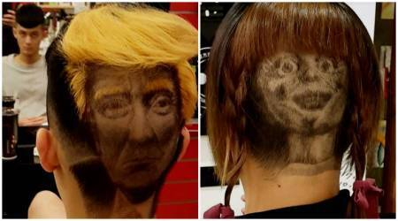 VIDEO: Want a 'hair tattoo'? From Donald Trump to Annabelle, get your head styled like a celebrity
