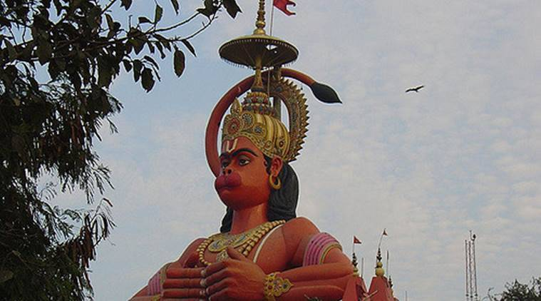 Hanuman statue in Delhi