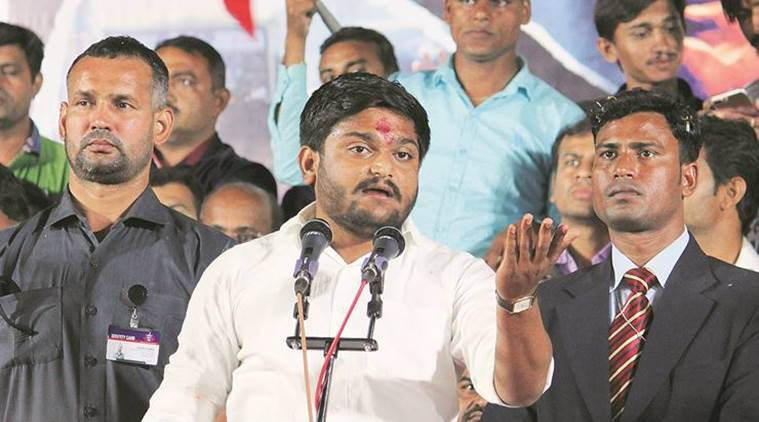 Hardik Patel roadshow in Surat