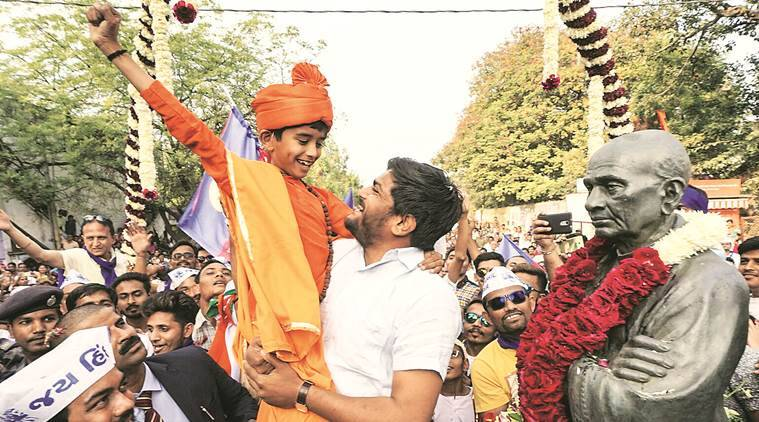 In euphoric crowds at Hardik rallies, many Modi fans who 'will vote for BJP'