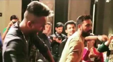 Hardik Pandya performs with brother Krunal at mehendi ceremony, watchvideo