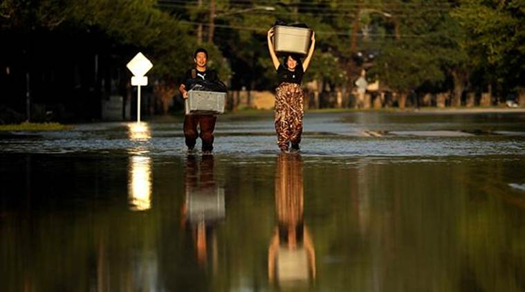 Harvey victims, Hurricane Harvey Victims, Texas, Hurricane Harvey, Texas Hurricane Harvey Victims, World News, Latest World News, Indian Express, Indian Express News