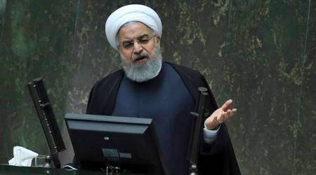 Iranian President Hassan Rouhani criticises US 'unilateralism' over nuclear deal