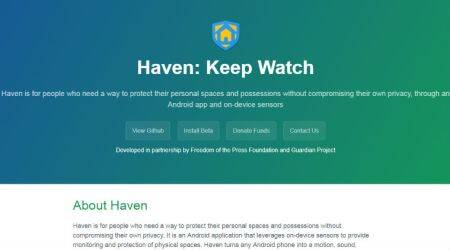 Edward Snowden's 'Haven' app turns smartphone into surveillance device