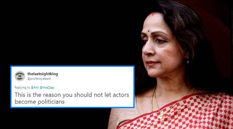 hema malini, Kamala Mills fire, hema malini comments on Kamala Mills fire, what is Kamala Mills fire, Indian express, Indian express news