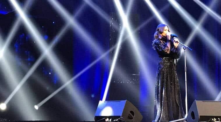 hiba tawaji, saudi arabia, riyadh, saudi all women music concert, saudi women freedom, saudi women concert, hiba tawaji saudi show, saudi first women concert, lifestyle news, arts news, indian express