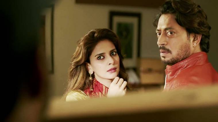 Irrfan Khan and Saba Qamar in Hindi Medium.