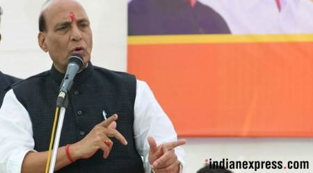 Rajnath Singh meets J&K Governor N N Vohra, discuss current situation in the valley