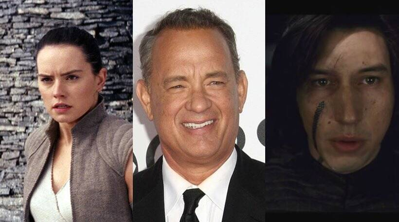 todays hollywood news includes avengers infinity war, star wars the last jedi actors daisy ridley, tom hanks and so on