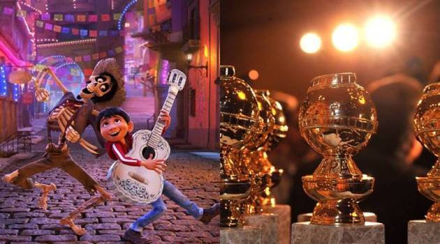 top hollywood news coco golden globes
