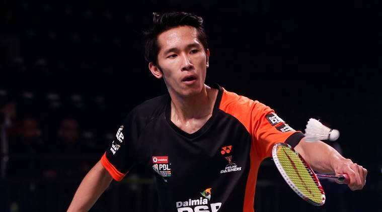 Chinese player Tian Houwei